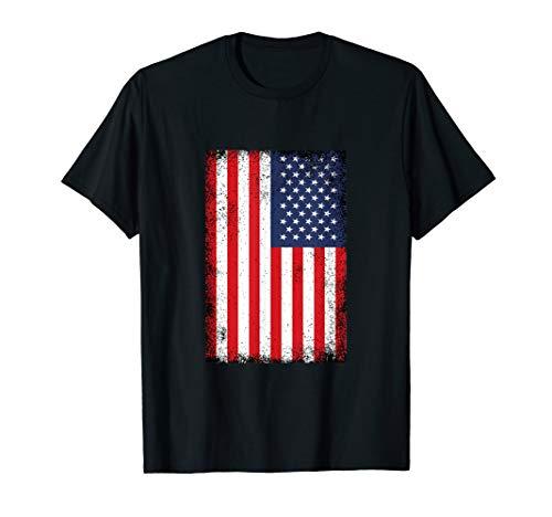 USA Flagge Vereinigte Staaten von Amerika T-Shirt