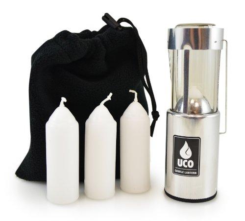 UCO Orig Lantern ValuePack Aluminum (Taschenlampe Value Pack)
