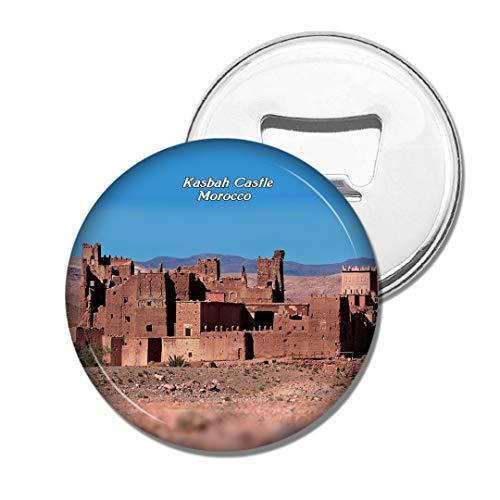 Weekino Marokko Kasbah Schloss Bier Flaschenöffner Kühlschrank Magnet Metall Souvenir Reise Gift
