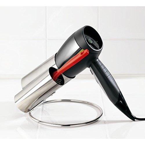Dual Base (Halterung für Haartrockner Dual Fach mit Base–Organizer Badezimmer–kamiustore)
