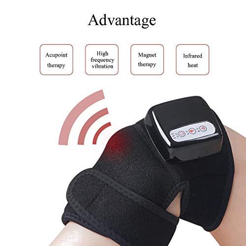 Knie-Massagegerät Infrarot-Magnetfeldtherapie Arthritis Hüfte Schulter Zurück Automatisches Timing