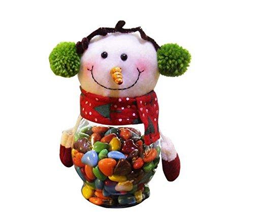 Peino Weihnachtsschmuck Xmas Tree Dekoration Zum Aufhängen Ornaments Schneemann Candy Jar