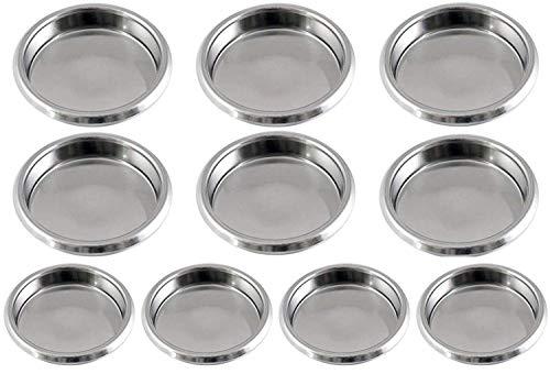 Gas N Pow3r x10 Puly Caff Blindfilter Blende Scheibe Edelstahl 58 mm für rückspülende...