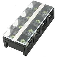 DealMux TC-1504 Filas 600V 150A 4P doble barrera de bloque de terminales de tornillo de Gaza