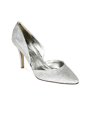 Carlton London Women Silver Toned Heels
