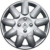 Véritable enjoliveur en acier/Bouchon de moyeu pour Citroën C1/C2/C3 35,6cm. 940660.