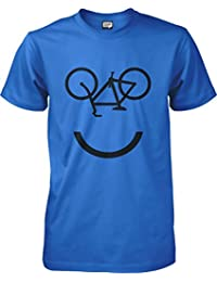 Smiley face - Cycling T-shirt - S to XXL Unisex