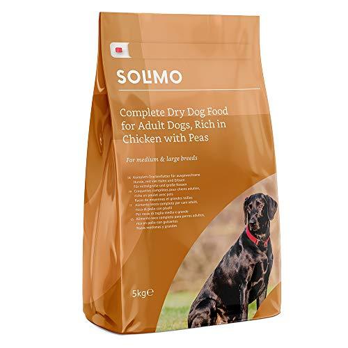 Marca Amazon - Solimo - Alimento seco completo para perro adulto rico...