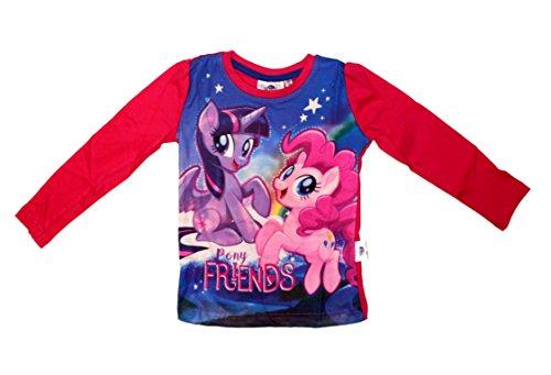 Mein kleines Pony My Little Pony The Movie Mädchen Langarmshirt der Film Neu (98 (3 Jahre), Fuchsia) (Twilight-film-shirts)