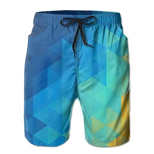 Bunte Diamant Quick Dry Spitze Boardshort Strand Shorts Hosen Badehose Personalisierte Jungen Badeanzug Mit Taschen L