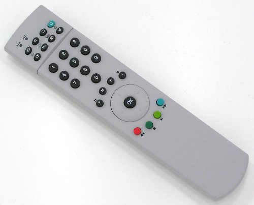 Ersatz Fernbedienung für Loewe Tele Control 150 100 Grau Fernseher TV Remote Control / Neu -