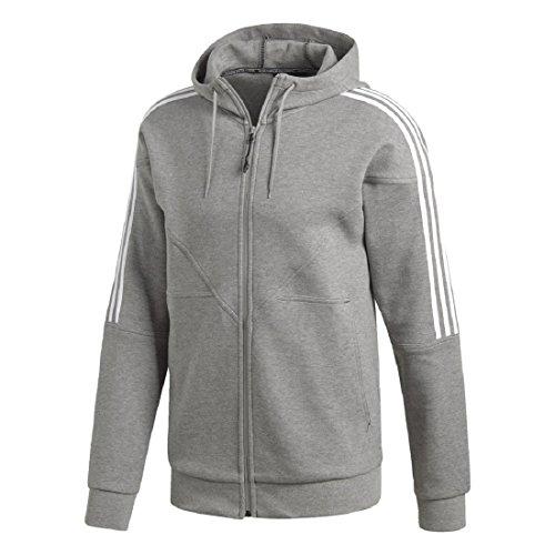 adidas NMD Full Zip Hoody (L, Core Heather) Core Zip-hoody