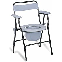 KosmoCare Premium Imported Folding Commode Chair