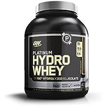 Optimum Nutrition Platinum Hydro Whey Protein Powder, Chocolate, 1.60 kg