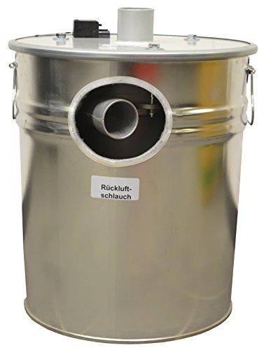 Pelltech isolée Turbine d'aspiration avec système Régime pour pelletsaug, Pellet Chargeur