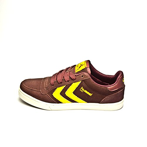 SCARPE UOMO HUMMEL STADIL LOW ORIGINAL 63-179 3587 (40 - OXBLOOD-LEMON)