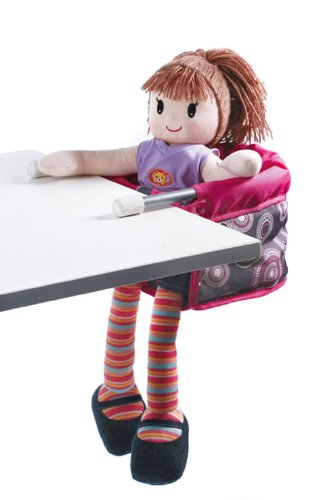 *Bayer Chic 2000 735 87 – Puppen-Tischsitz, hot pink Pearls*