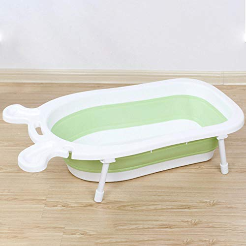 vaschetta bagnetto pieghevole,Vasca da bagno bambino, vasca da bagno pieghevole per bambini @ verde
