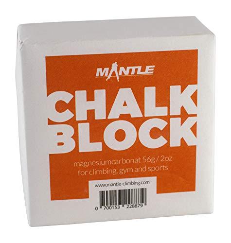 Mantle - Chalk Block Kletterkreide zum Bouldern Klettern Turnen Gewichtheben als 1er Pack