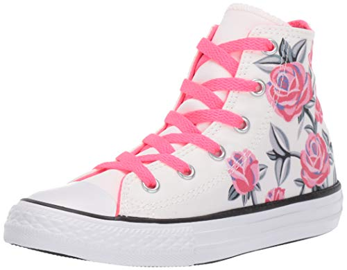 Converse Youth CTAS Strong Pack Hi Canvas White Racer Pink Trainer 36 EU - Youth Pack