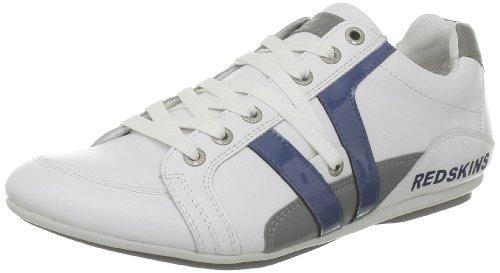 Redskins Arene, Sneaker uomo, Blanc (Blanc Bleu Gris), 45
