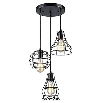 koonting m tal retro suspension luminaire industrielle. Black Bedroom Furniture Sets. Home Design Ideas