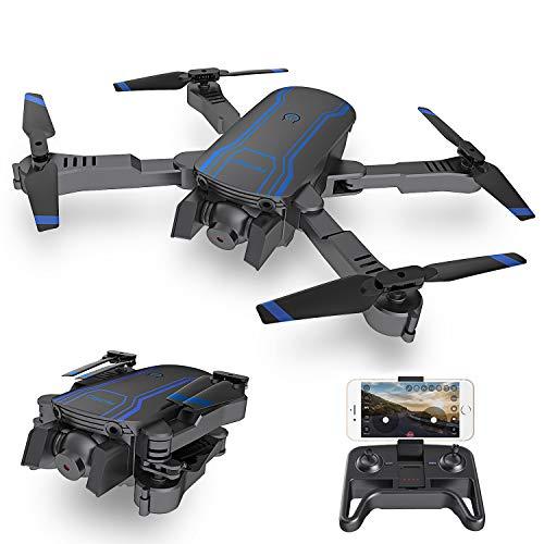 AKASO Drone Pliable avec Caméra HD 1080P WiFi FPV avec Vol de Trajectoire,Helicoptère...