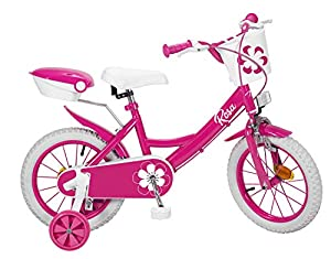 TOIMSA 14122 Colors - Bicicleta de 14 Pulgadas, Color Rosa