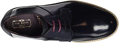 Ted Baker Oktibr, Chaussures à Lacets Homme bleu (DARK BLUE LEATHER)