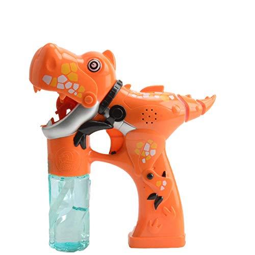 Yvonnezhang Blasen Blase Spielzeug Kinder elektrische Blasen Bubble Gun Cartoon Dinosaurier leichte Musik Blasen Blase @ 4 (Halloween-musik-aktivitäten Für Kindergarten)