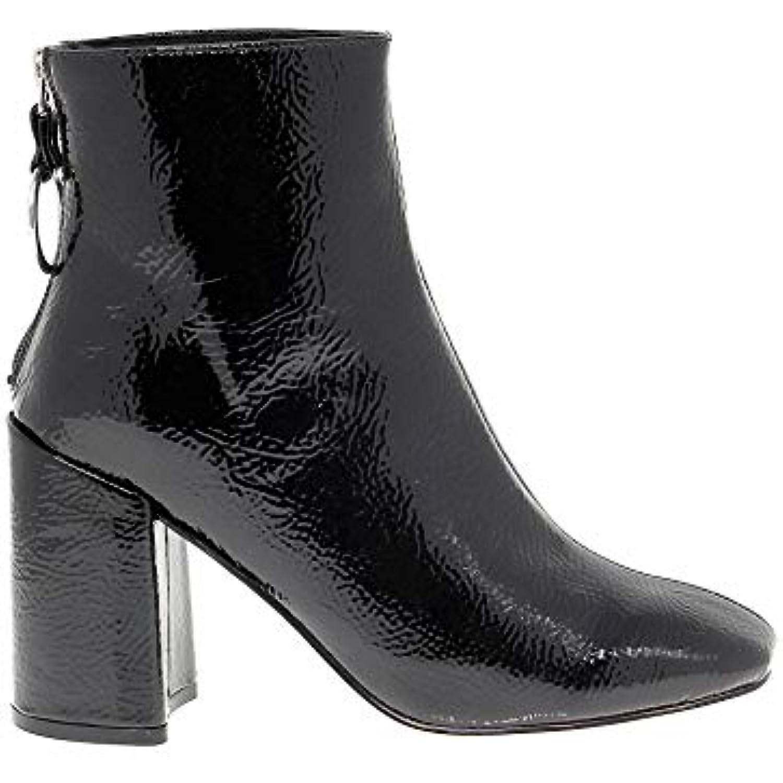 Steve Madden Femme SMADPOSEDBLACK Noir Cuir Vernis Bottines - - - B07HYGJRWF - 8efc8d