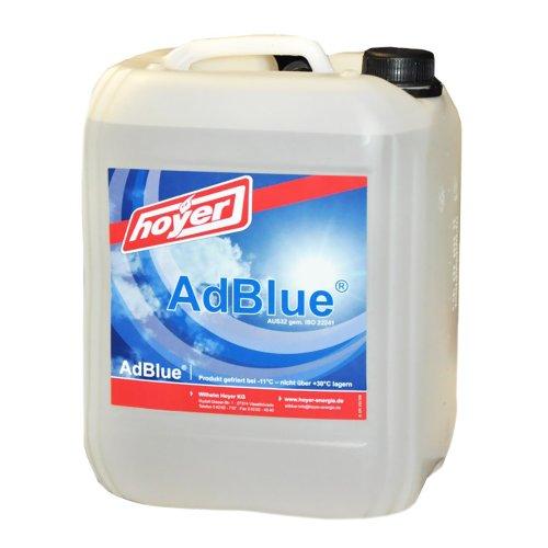 Hoyer AdBlue Hochreine SCR Harnstofflösung ISO 22241, 10 Liter Test