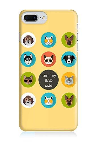 COVER Katze cat Hund dog Tier Sticker Design Handy Hülle Case 3D-Druck Top-Qualität kratzfest Apple iPhone 8