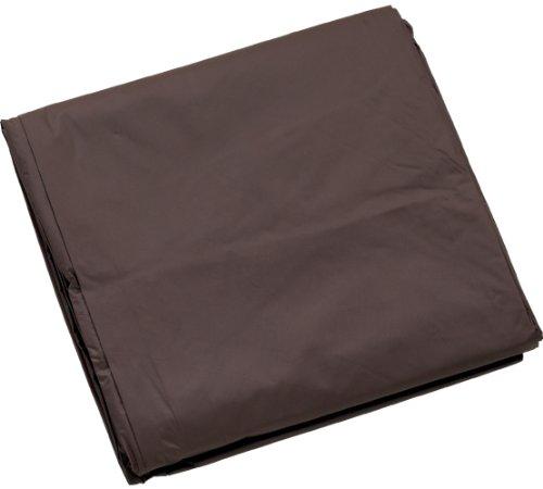 8-feet vinyl Pool Table cover, Brown, 8 Piedi