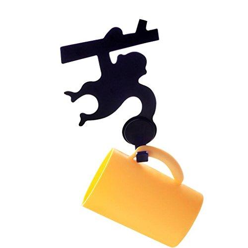 ZLR Strong Power Kreative Cartoon Serie Lagerregal Niedlichen Cartoon Racks Gesetzt Zahnbürste Brille Seife Rack Saug Rack ( Farbe : C ) Handtuch Haken Gesetzt