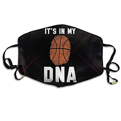 Basketball It's in My DNA Anti Dust Mouth Masks Anti Pollution Cover Mask Suitable for Adult -