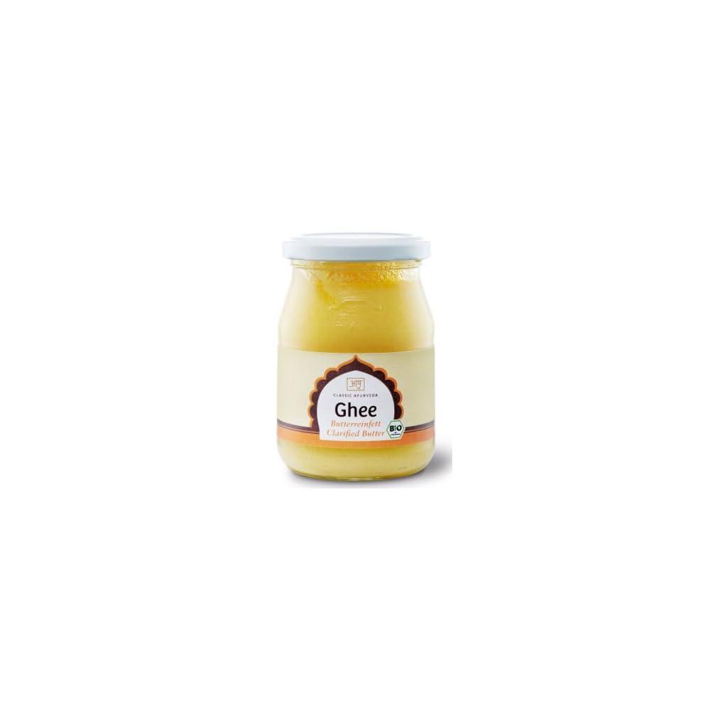 Classic Ayurveda Bio Ghee Ayurvedisches Butterreinfett Aus Biobutter 1er Pack 1 X 225 G Bio