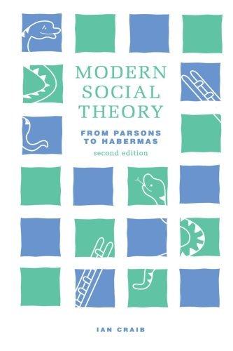 Modern Social Theory by Ian Craib (1992-09-15)