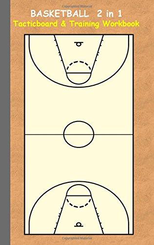 Basketball 2 in 1 Tacticboard and Training Workbook por Theo von Taane