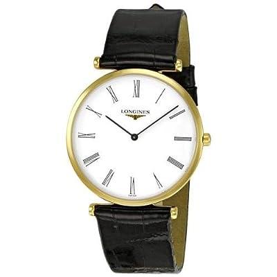 Longines La Grande Classique L47092112 Gents Black Calfskin 33mm Quartz Watch