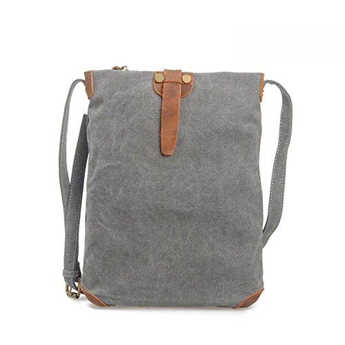 L'Europa e gli Stati Uniti borsa a tracolla uomini e donne pacchetto casuale tela pacchetto di svago modo semplice pacchetto , khaki dark gray
