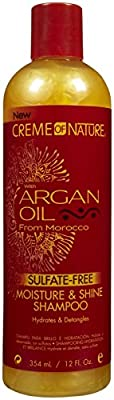 Creme of Nature Argan Oil Moisture and Shine Sulphate Free Hair Shampoo