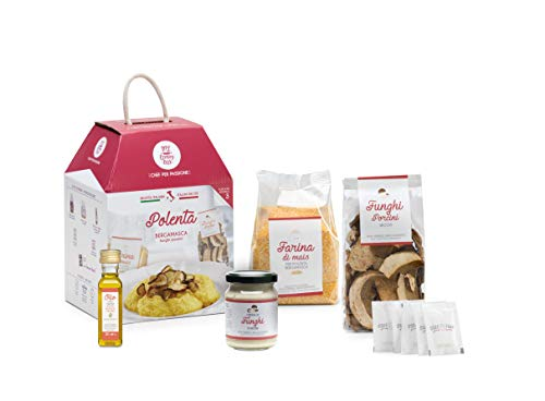 POLENTA MIT STEINPILZEN x3 Portion My Cooking Box - Geschenkidee