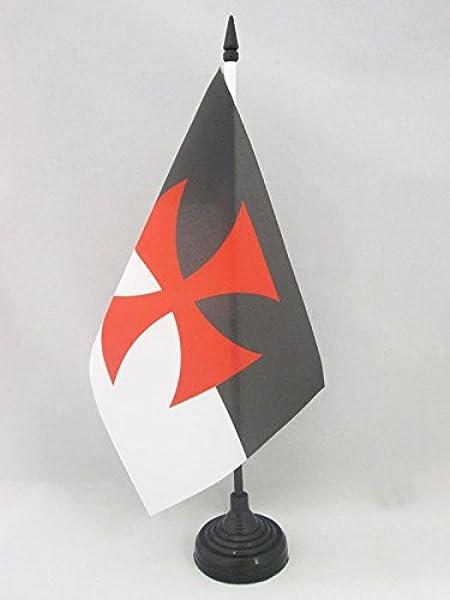 Piccola BANDIERINA Esercito JUGOSLAVO in PATRI CETNICO 14 x 21 cm AZ FLAG Bandiera da Tavolo JUGOSLAVIA CETNICI 21x14cm