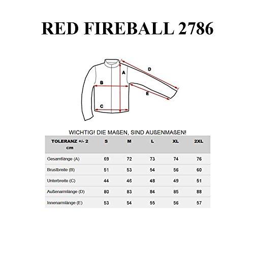 BOLF Herren Sweatshirt mit Kapuze Kapuzenpullover HOT RED MIX Khaki_2786