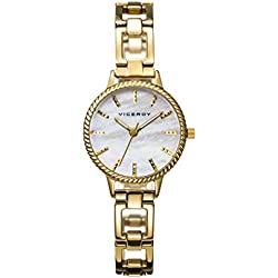 Reloj Viceroy Mujer 47872-27 Acero Dorado