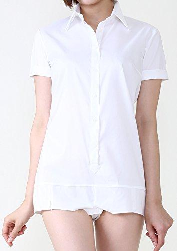 LEONIS SHIRTS & FAVORITES - Camicia -  donna 5.Short-Sleeve White