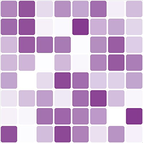 lila-azulejo-de-mosaico-etiquetas-engomadas-de-la-transferencia-149mm-cuadrado-pack-de-8-para-bano-c