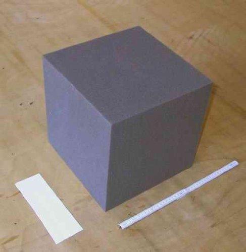 Wohnen Schaumstoffwürfel 2 Stück je 30x30x30cm Bausteine für Kinder, Therapiehilfe, Sitzwürfel, Dekowürfel, Bauklötze