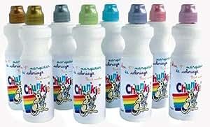 Chunkie CH41626 Lot de 8 Marqueurs Plastique Métallique 13 x 5 x 10 cm